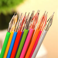 Neue 12 X Sortiert Cartoon Frische Star Diamond Color Gel Pen Bürobedarf  TOP