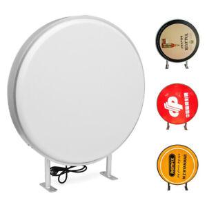 Light Box 70cm Circular Round LED Projecting Double Sided Blank Illuminated Sign