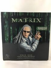 """MATRIX Reloaded """"TWIN ONE"""" Collectible Mini-Bust Gentle Giant 2003 (Promo/6000)"""