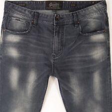 Mens SuperDry LOW RIDER Stretch SLIM Blue Jeans W34 L32