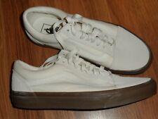 women 11.5 or men 10 ~ off white / cream color old skool ~ Vans shoes EUC