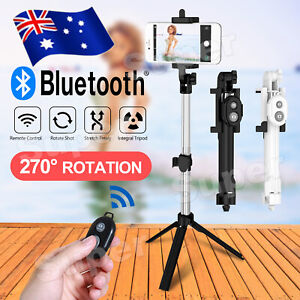 Universal Tripod Bluetooth Telescopic Handheld Selfie Stick Phone Holder Remote