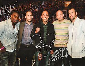 Fedor Emelianenko & Royce Gracie Luke Rockhold Phil Davis Signed 11x14 Photo UFC