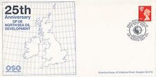 (46118) GB Cover North Sea Oil 25 years - Aberdeen 5 September 1989