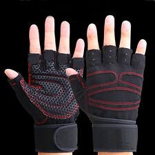 Men Women Gym Cycling Gloves for Sport Fitness Exercise Training Bicycling S-L