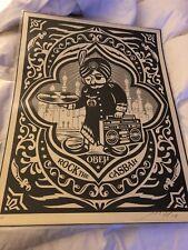 "Shepard fairey signed Print."" Rock the Casbah"" Artist Proof"