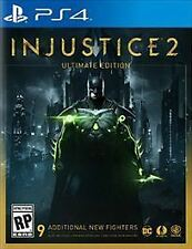 Injustice 2: Ultimate Edition (Sony PlayStation 4, 2017)
