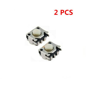 2 PCS For GBM Left Right Button Micro Switch For Nintendo DS Lite NDSL