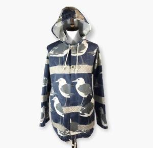 Michigan Rag Company Vintage Marushka Seagull Jacket S/M Hand Screen sailcloth