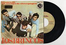 LOS BRINCOS Renacera spanish EP 1966 freakbeat juan pardo beatles