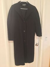 Women's Billycoat Wool Coat Size 6 Coat Black winter lined