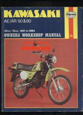 Kawasaki AE50 AR50 AE80 AR80 (1981-1984) Haynes Service Manual AE AR 50 80 CM46