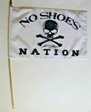 Kenny Chesney - No Shoes Nation Pirate Flag - With Printed Autograph