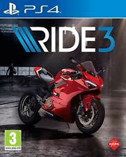 Ride 3 Sony PlayStation Ps4 Game 3 Years