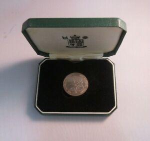 The National Trust Royal Mint Pin Badge In Original Box