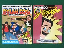 DYLAN DOG SPECIALE n.6 + Albetto GROUCHO Allegato BONELLI (1992) Special