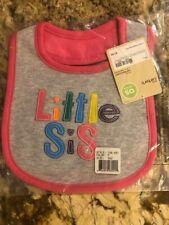 Nwt Carter's Little Layette Girls Teething Bibs