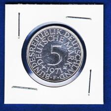 Germany silver coin, 5 Deutsche Mark 1971 F,  5 DEM 1971 !