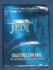 "NIP ""Star Wars"" Collectable Card Game - 2-Player Starter Decks - Free Pack w/Buy"