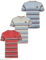 DEE /& RICKY PONY AOP ALL OVER PRINT SHORT SLEEVE CREW NECK T-SHIRT TOP TEE