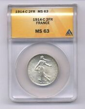 Silver ANACS Certified French Coins