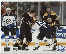 Trent Frederic Boston Bruins signed 16x20 Fight photo