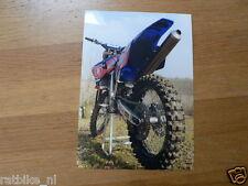 F095-MX500 YAMAHA YZ 500FM GRAND PRIX MACHINE SEASON 2001 PHOTO MOTOCROSS