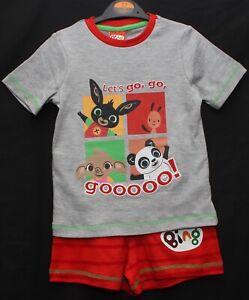 BING BUNNY Boy's Shorty PJs/ BING Pyjama Shorts Set Sizes 1-1.5 /1.5-2 /2-3 /5-6