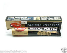 AUTOSOL METAL POLISH 75ml for metal parts; chrome, brass, copper, nickel