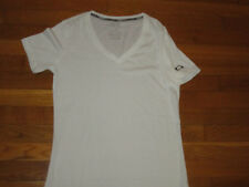 OAKLEY SHORT SLEEVE WHITE TOP WOMENS SMALL EXCELLENT CONDITION