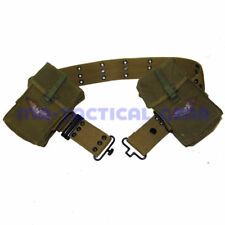 Military WW2 Us Army S Belt And M14 Ammo Pouch Magazine Bag Full Set Vietnam War