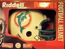MIAMI DOLPHINS 1980-96 NFL RIDDELL FOOTBALL MINI HELMET