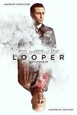 LOOPER ORIGINAL 27x40 MOVIE POSTER (2012) GORDON-LEVITT & WILLIS