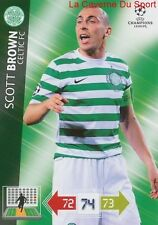 U33 SCOTT BROWN CELTIC FC SCOTLAND CARD CHAMPIONS LEAGUE ADRENALYN 2013 PANINI