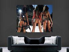 HOT Sexy Erotico Ragazze con pistole enormi GRANDI Wall Art POSTER FOTO