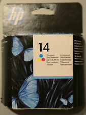 (PRL) HP 14 ORIGINALE CARTUCCIA INCHIOSTRO INK CARTRIDGE COLORE C5010DE SCADUTA