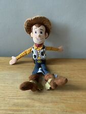 "Pixar Disney Store Toy Story - SHERIFF WOODY - Soft Plush Stuffed Doll 12"""