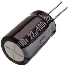 2x Condensateur chimique LOW ESR 22µF ±20% 400V THT 105°C 8000h Ø16x25mm radial