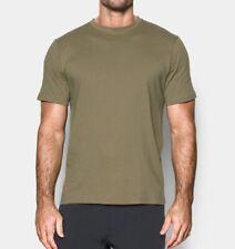 Under Armour Ua Men's Tactical Combat Cotton Short Sleeve T-Shirt - Sand - New