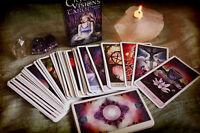 Crystal Visions Tarot Deck 78 Cards Jennifer Galasso Fantasy Fairies BRAND NEW