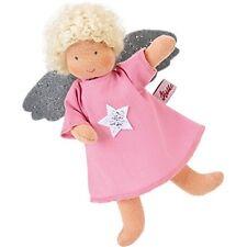 Käthe Kruse Puppen Stoffpuppe  kleiner Schutzengel 15 cm mit blondem Haar 78010