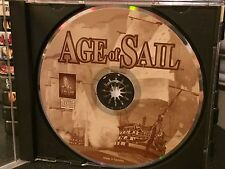 *one owner!* Age Of Sail + MINT players guide PC cd-rom 1996 Windows TALON SOFT