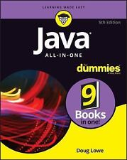 JAVA ALL-IN-ONE FOR DUMMIES NEW PAPERBACK BOOK