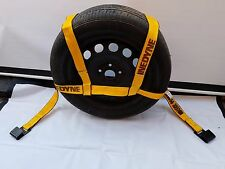 KINEDYNE Tire Strap Basket Bonnet Car Tow Dolly Wheel Net