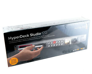 Blackmagic Design HyperDeck Studio 12G - 4K ProRes Video Recorder w/ HDMI, SDI