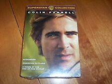 COLIN FARRELL SUPERSTAR COLLECTION American Outlaws Alexander 3 DVD SET NEW