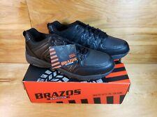 NEW!! BRAZOS Service Work Shoes Sneakers Split Shidt III Mens Size 11.5M Black