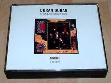 DURAN DURAN Seven & The Ragged Tiger 2010 Remaster Rare 2x CD /1x DVD PROMO Set