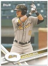 Jake Bauers Tampa Bay Rays 2017 Topps Pro Debut
