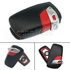 for BMW Sport Line Black  Red Genuine Key Case FOB Holder fit 2 3 5 series x3 x5